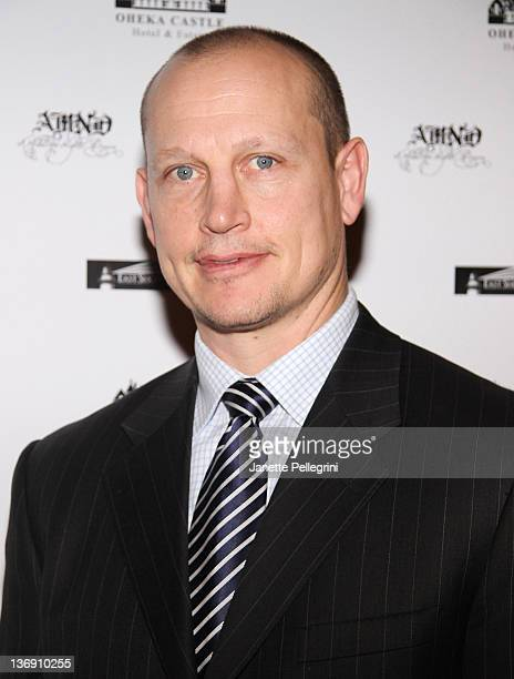 Hockey Player Adam Graves attends the 2012 A Midwinter Night's Dream Gala at Oheka Castle on January 12 2012 in Huntington New York