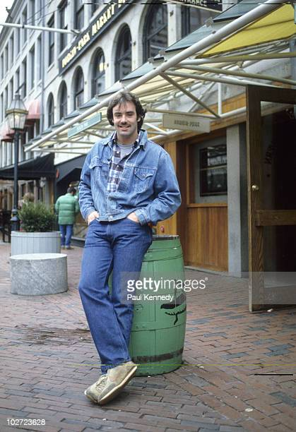 Portrait of Boston Bruins goalie Jim Craig during photo shoot at Faneuil Hall Marketplace Boston MA CREDIT Paul Kennedy 079007176