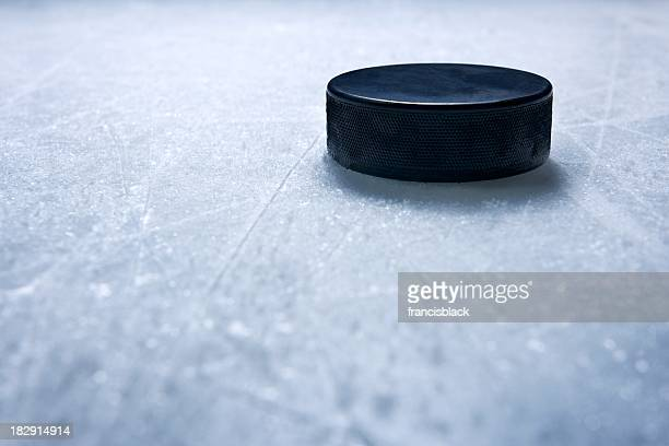 hockey puck - hockey stock pictures, royalty-free photos & images