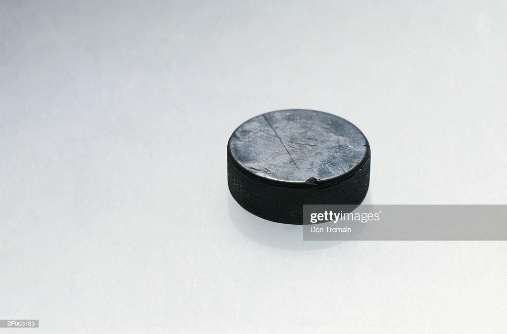 Hockey Puck : Stock-Foto
