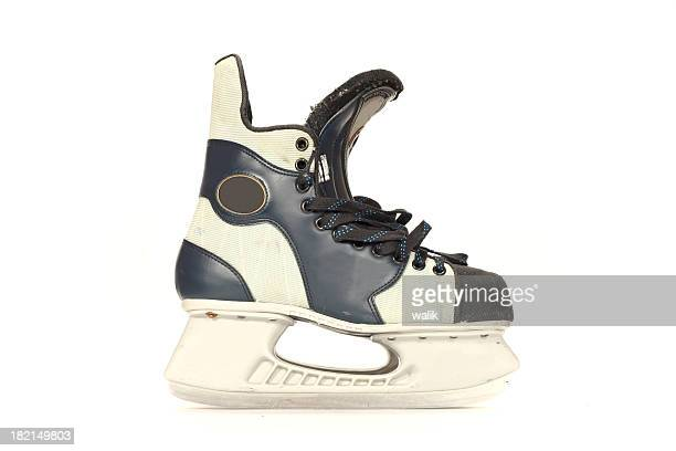 hockey skates - ice skate stock pictures, royalty-free photos & images