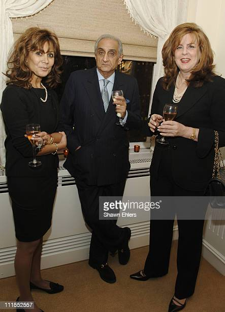 Hoda EsphahaniHormoz Sabet and Carol Belladora during BlockGuest Group Celebrates Its New Private Jewelry Salon Located at Rockefeller Center Day 1...