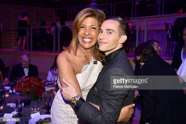 Hoda Kotb and Adam Rippon attend the 2018 TIME 100 Gala at Jazz at Lincoln Center on April 24 2018 in New York City