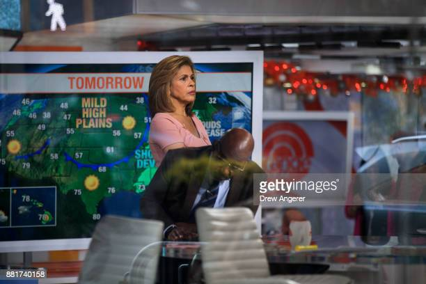 Hoda Kotb and Al Roker during a break on the set of NBC's Today Show November 29 2017 in New York City It was announced on Wednesday morning that...