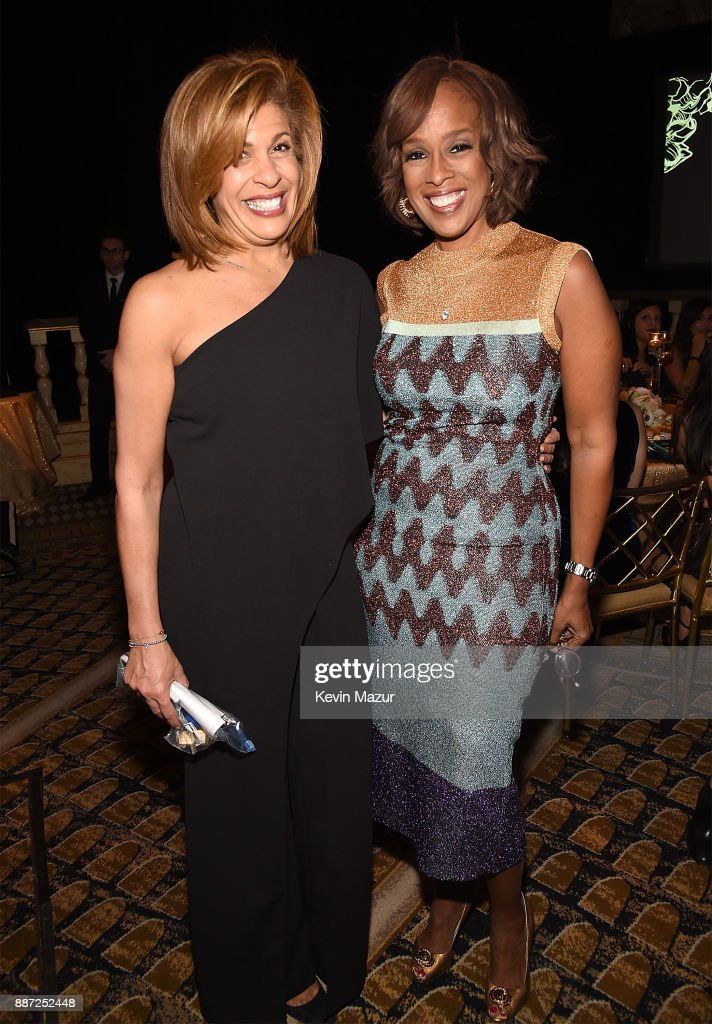 Hoda Kotb and Gayle King attend L'Oreal Paris Women of Worth Celebration 2017 on December 6, 2017 in New York City.