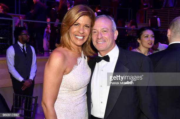 Hoda Kotb and Joel Schiffman attend the 2018 TIME 100 Gala at Jazz at Lincoln Center on April 24 2018 in New York City