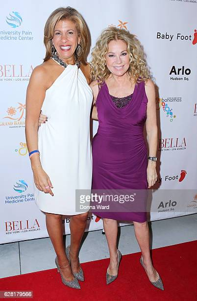 Hoda Kotb and Kathie Lee Gifford appear to celebrate the BELLA New York Holiday Issue Cover Party and Holiday Shopping Event on December 6 2016 in...