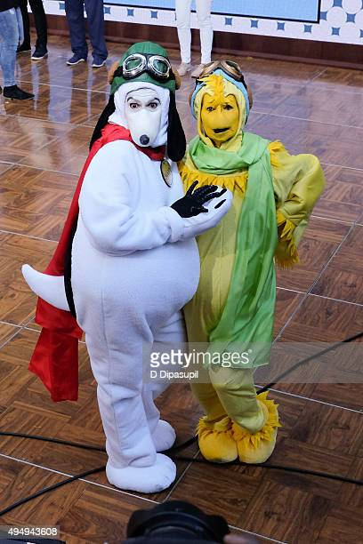 Hoda Kotb and Kathie Lee Gifford attend NBC's 'Today' Spooktacular Costume Party at Rockefeller Plaza on October 30 2015 in New York City