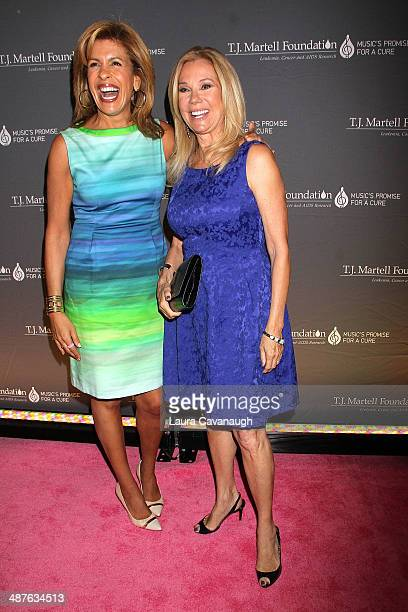 Hoda Kotb and Kathie Lee Gifford attend the 2014 TJ Martell Foundation Women Of Influence Awards at Essex House on May 1 2014 in New York City