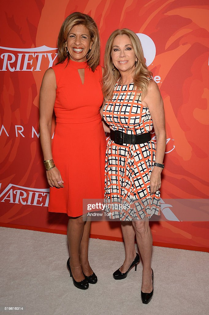 Hoda Kotb (L) and Kathie Lee Gifford attend Variety's Power Of Women: New York 2016 at Cipriani Midtown on April 8, 2016 in New York City.