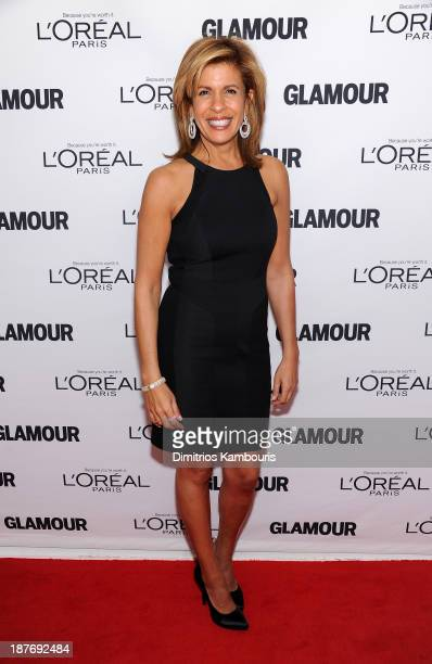 Hoda Kotb attends Glamour's 23rd annual Women of the Year awards on November 11 2013 in New York City