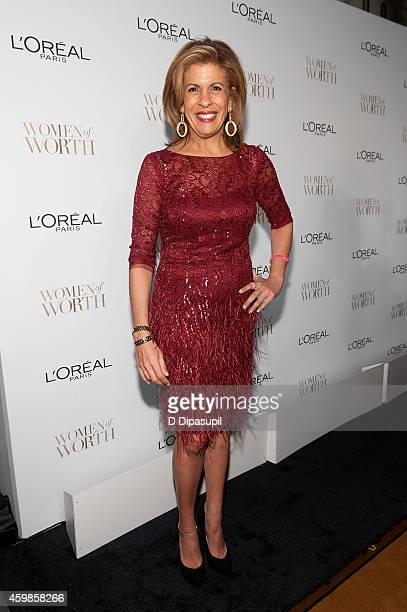 Hoda Kotb attends L'Oreal Paris' Ninth Annual Women of Worth Awards at The Pierre Hotel on December 2 2014 in New York City