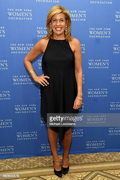 Hoda Kotb attends New York Women's Foundation hosts Annual Fall Gala at The Plaza on October 15 2015 in New York City