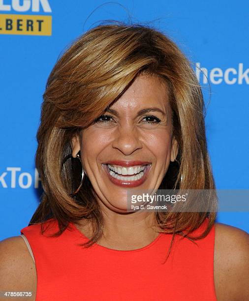 """Hoda Kotb attends """"Paycheck To Paycheck: The Life And Times Of Katrina Gilbert"""" New York Premiere at HBO Theater on March 13, 2014 in New York City."""