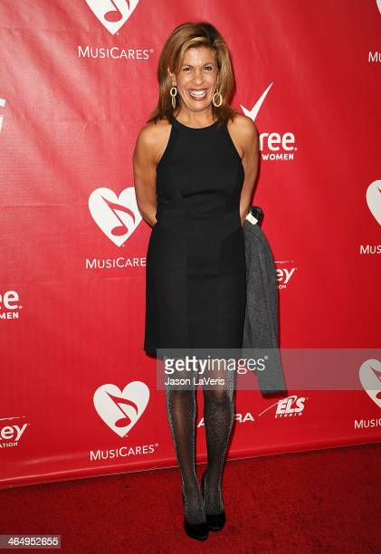 Hoda Kotb attends the 2014 MusiCares Person of the Year honoring Carole King at Los Angeles Convention Center on January 24 2014 in Los Angeles...