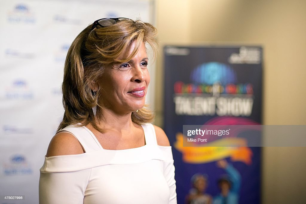 Hoda Kotb attends the 2015 Garden of Dreams Talent Show rehearsal at Radio City Music Hall on May 28, 2015 in New York City.