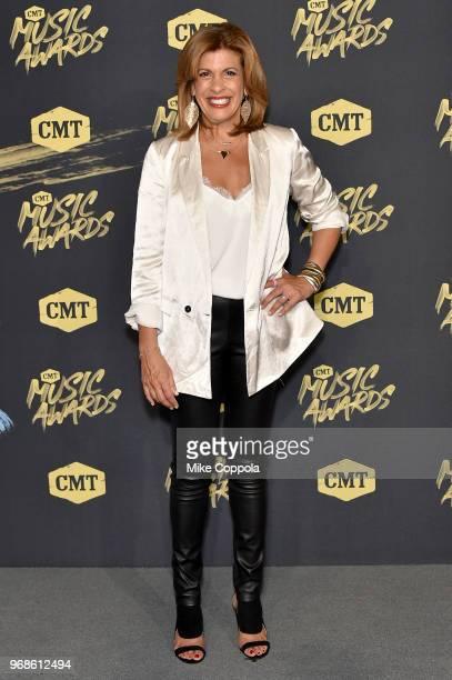 Hoda Kotb attends the 2018 CMT Music Awards at Bridgestone Arena on June 6 2018 in Nashville Tennessee