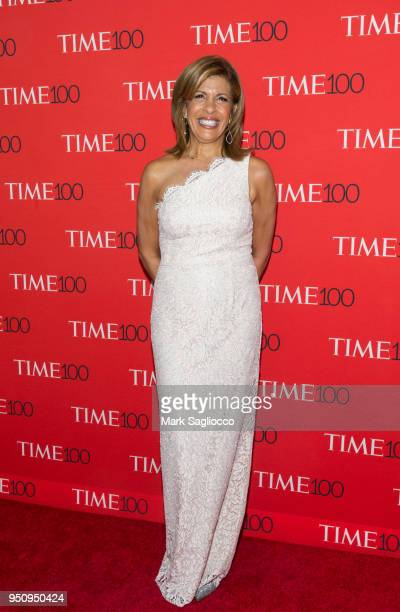 Hoda Kotb attends the 2018 Time 100 Gala at Frederick P Rose Hall Jazz at Lincoln Center on April 24 2018 in New York City