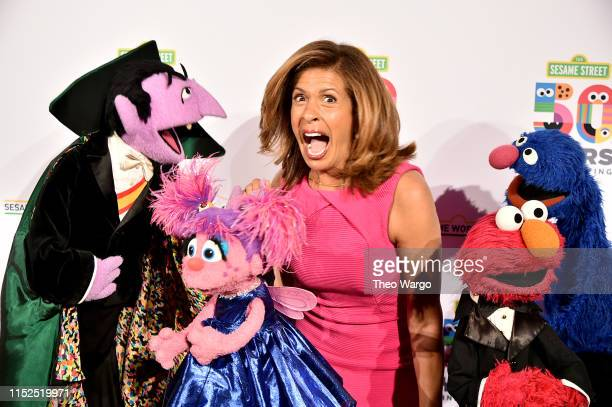 Hoda Kotb attends the Sesame Workshop's 50th Anniversary Benefit Gala at Cipriani Wall Street on May 29 2019 in New York City