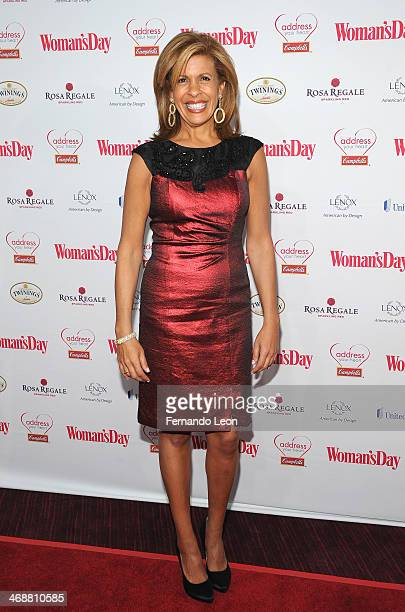Hoda Kotb cohost of the fourth hour of NBC's Today arrives as American Heart Association celebrates the 10th Year of Go Red For Women at The Woman's...