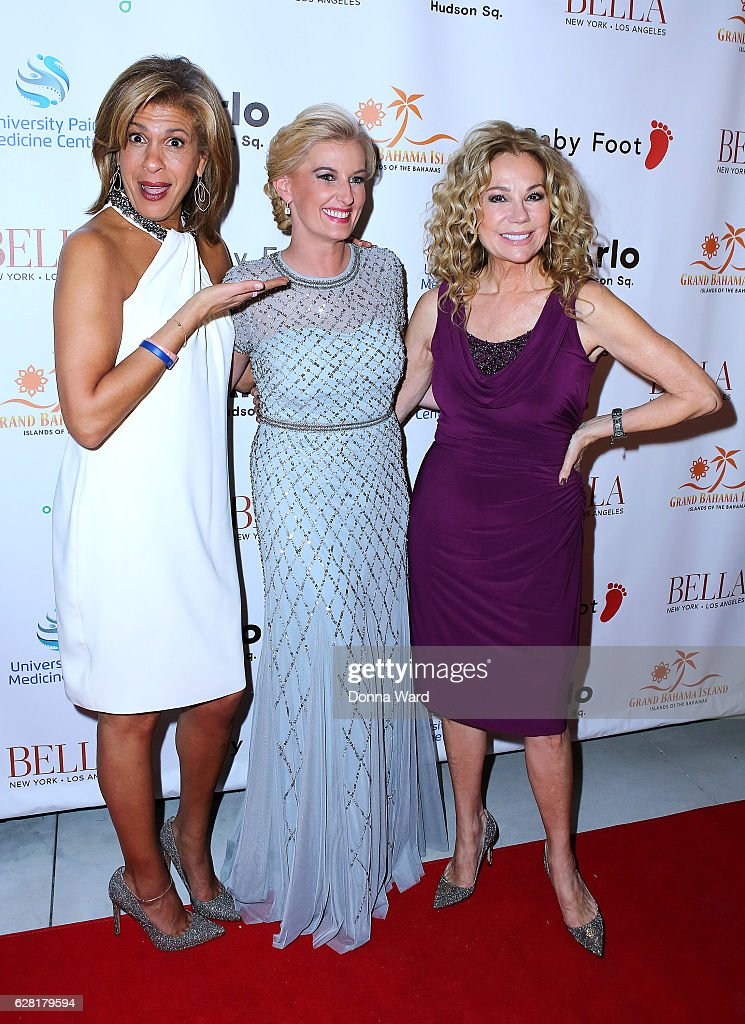 Hoda Kotb, Courtney Hall and Kathie Lee Gifford appear to celebrate the BELLA New York Holiday Issue Cover Party and Holiday Shopping Event on December 6, 2016 in New York City.