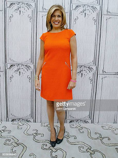 Hoda Kotb discusses her new book Where We Belong Journey's That Show Us The Way during AOL Build spaeker series at AOL Studios In New York on January...