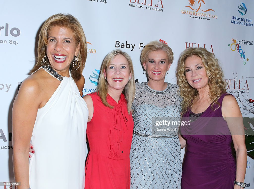 Hoda Kotb, guest, Courtney Hall and Kathie Lee Gifford appear to celebrate the BELLA New York Holiday Issue Cover Party and Holiday Shopping Event on December 6, 2016 in New York City.