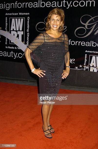 Hoda Kotb of NBC's Dateline during American Women in Radio Television 30th Annual Gracie Allen Awards at New York Marriot Marquis Hotel in New York...