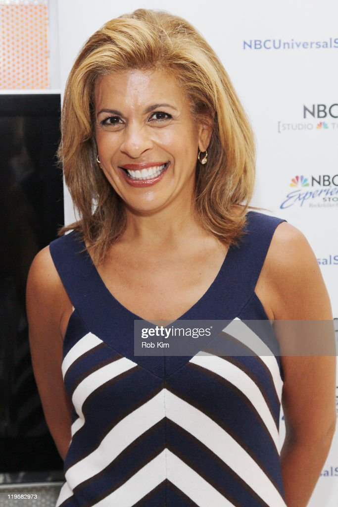 "Hoda Kotb Signs Copies Of ""Hoda: How I Survived War Zones, Bad Hair, Cancer, And Kathie Lee"""