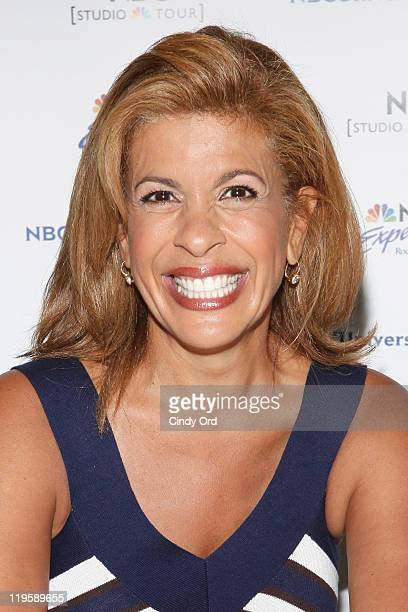 Hoda Kotb promotes Hoda How I Survived War Zones Bad Hair Cancer and Kathie Lee at NBC Experience Store on July 22 2011 in New York City