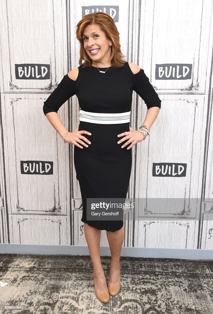 Hoda Kotb visits Build Series to discuss her new book 'I've Loved You Since Forever' at Build Studio on March 8, 2018 in New York City.