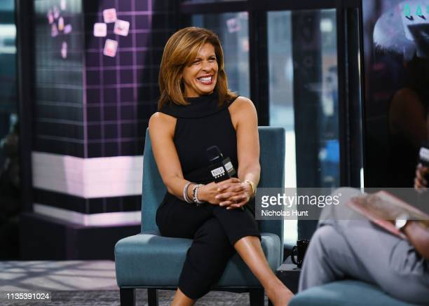 Hoda Kotb visits Build to discuss her new book You Are My Happy at Build Studio on March 12 2019 in New York City
