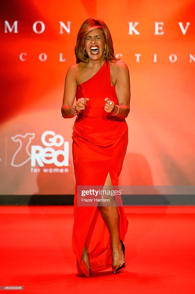 American Heart Association Go Red For Women Red Dress Collection 2015 Presented By Macy's At Mercedes-Benz Fashion Week - Runway