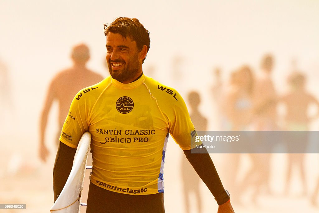 Hodei Collazo during Pantin Classic Galicia Pro 2016, Qualifying Series 6,000 of World Surf League (WSL) celebrated in the Pantin beach, A Coruña, Galicia, Spain on 30 August - 4 September, 2016.