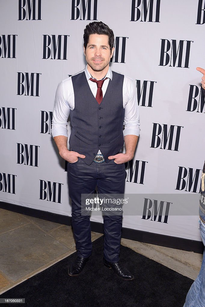 JT Hodges attends the 61st annual BMI Country awards on November 5, 2013 in Nashville, Tennessee.
