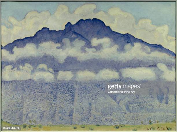 Hodler Ferdinand The tip of Anday Arve valley Haute savoie 1909 Orsay Museum