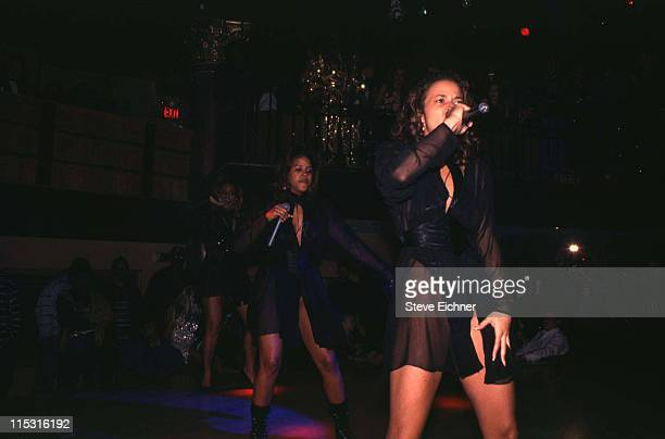 Hoes With Attitude during Hoes With Attitude in Concert at Silverado Club 1994 at Silverado Club in New York City New York United States