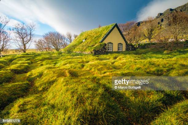 Hof church, Iceland.
