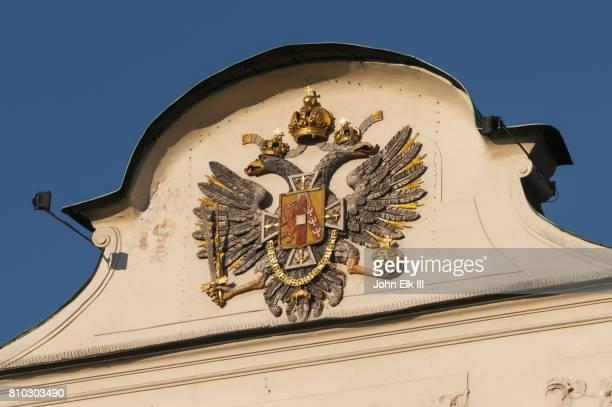 Hofburg Castle in Innsbruck, coat of arms