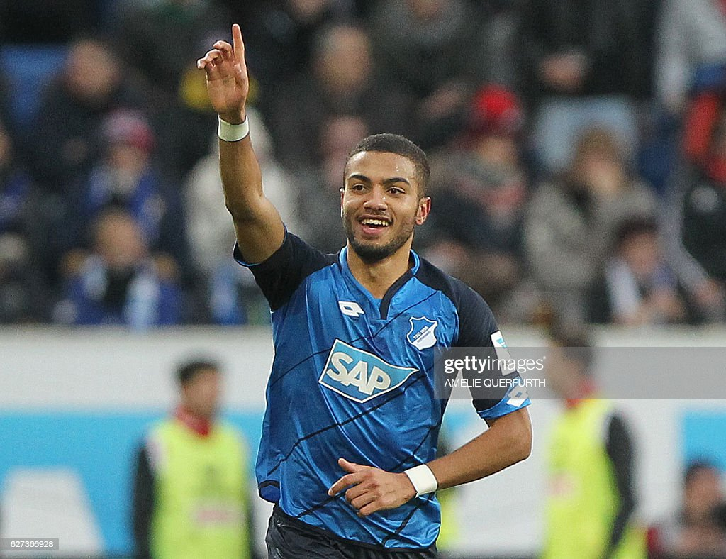 FBL-GER-BUNDESLIGA-HOFFENHEIM-COLOGNE : News Photo