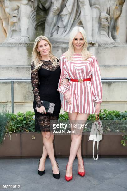 Hofit Golan and Amanda Cronin attend the launch of the Four Seasons Residences London at Ten Trinity Square on May 24 2018 in London England
