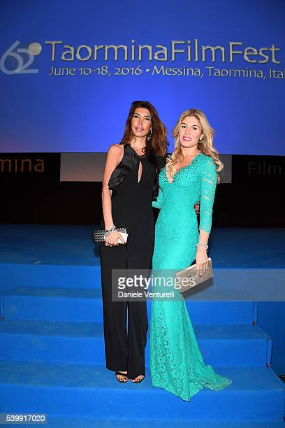Hofit Golan and Ana Maria Folostina attend 62 Taormina Film Fest Day 3 on June 13 2016 in Taormina Italy