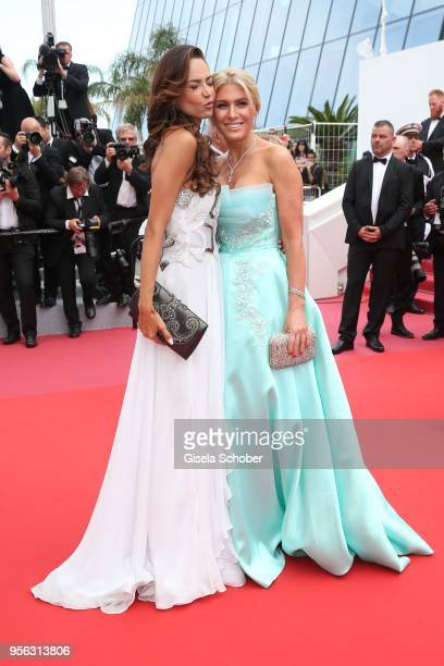 Hofit Golan and Patricia Contreras attend the screening of 'Everybody Knows ' and the opening gala during the 71st annual Cannes Film Festival at...