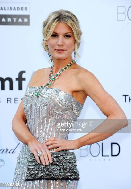 Hofit Golan arrives at amfAR's Cinema Against AIDS 2010 benefit gala at the Hotel du Cap on May 20 2010 in Antibes France