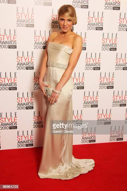 Hofit Golan arrives at the Elle Style Awards 2010 held at The Grand Connaught Rooms on February 22 2010 in London England