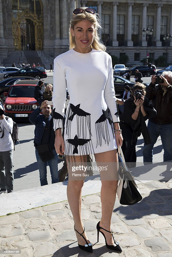 Hofit Golan arrives at the Guy Laroche show as part of the Paris Fashion Week Womenswear Spring/Summer 2016 on September 30, 2015 in Paris, France.