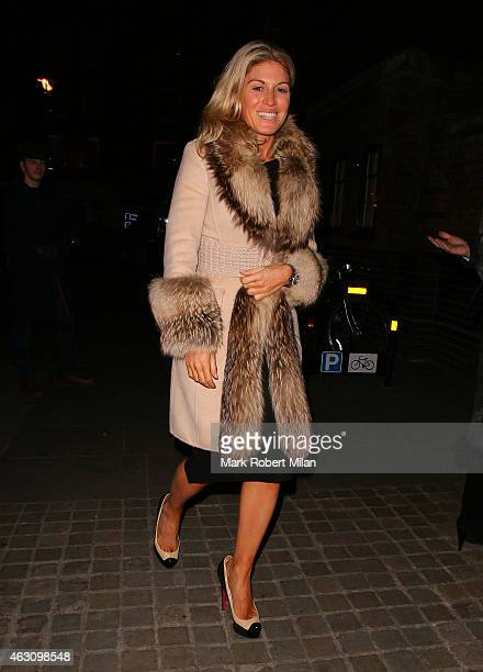 Hofit Golan at the Chiltern Firehouse on February 9 2015 in London England