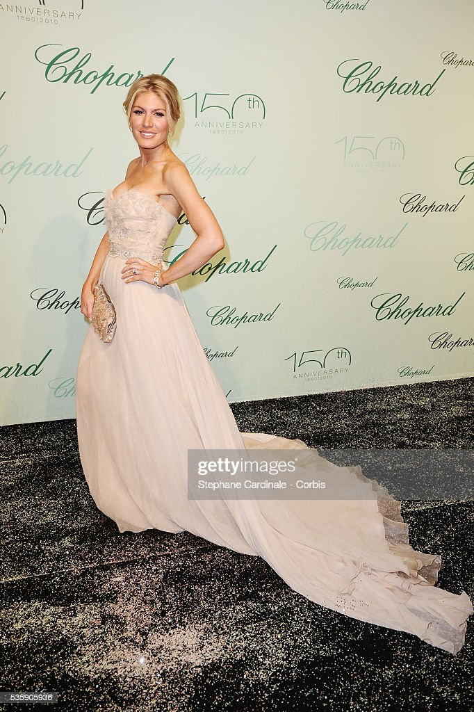 Hofit Golan at the 'Chopard 150th Anniversary Party' during the 63rd Cannes International Film Festival.