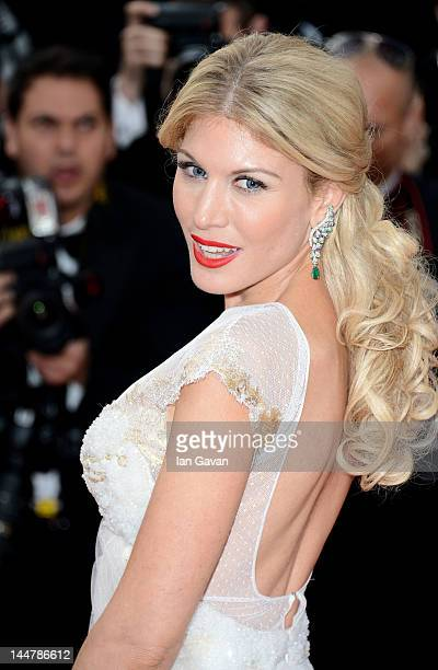 Hofit Golan attend the Lawless Premiere during the 65th Annual Cannes Film Festival at Palais des Festivals on May 19 2012 in Cannes France