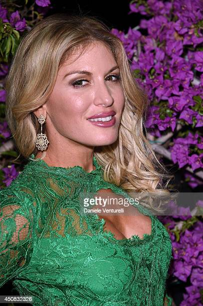 Hofit Golan attends a Gala Dinner during the 60th Taormina Film Fest at Hotel Imperiale on June 18 2014 in Taormina Italy